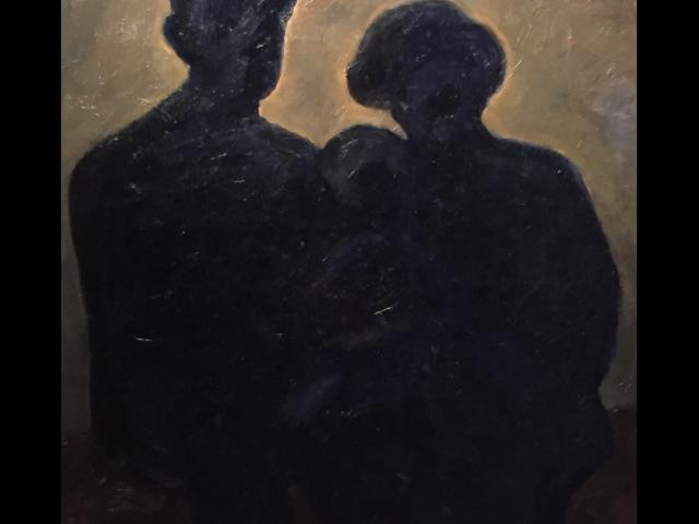 Connelly, Family, Oil on Canvas