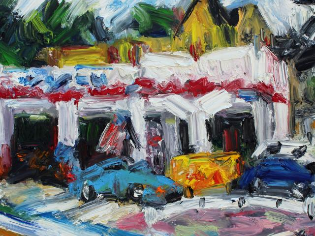 Brady, Maggie's Car Repair, 30 x 40