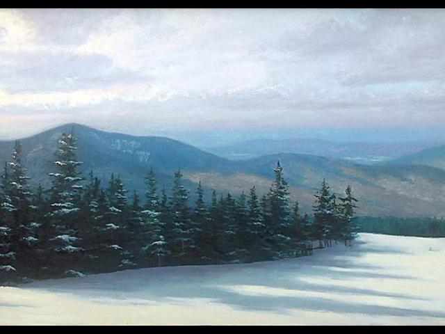 Lone Skiiers, Henry Martin