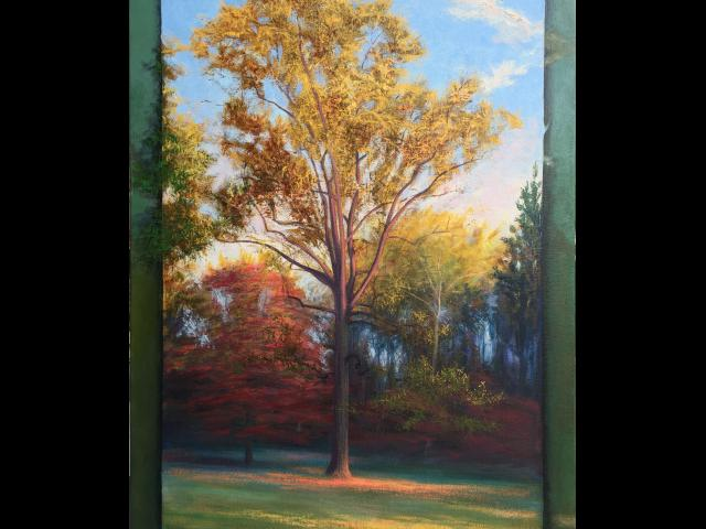 Pastorious, October, Oil on Canvas