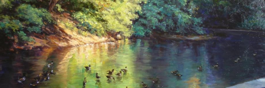 Schary, Oil on Canvas, Wissahickon 2